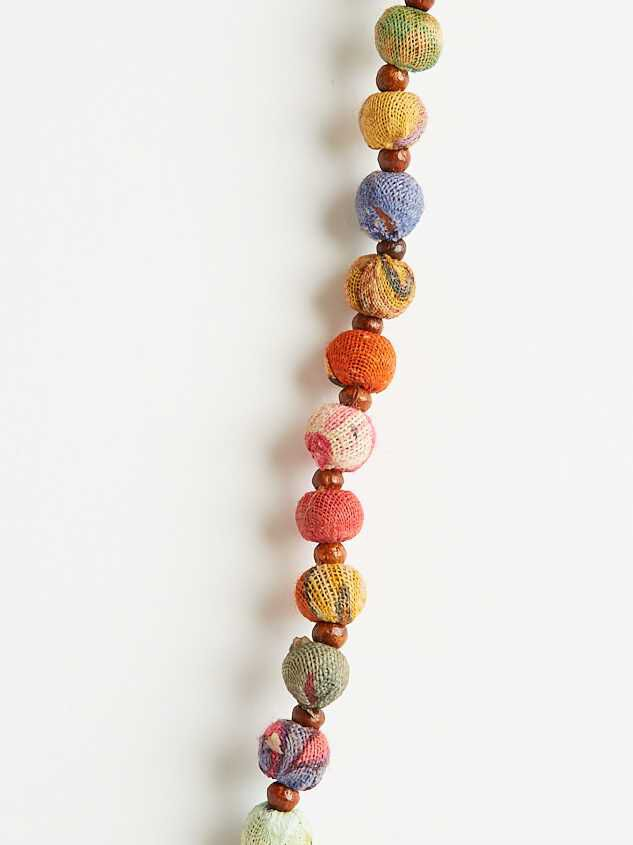 Fabia Tassel Necklace Detail 2 - Altar'd State