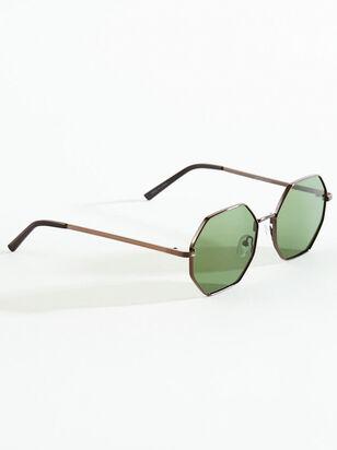 Baldwin Octagonal Sunglasses - Altar'd State