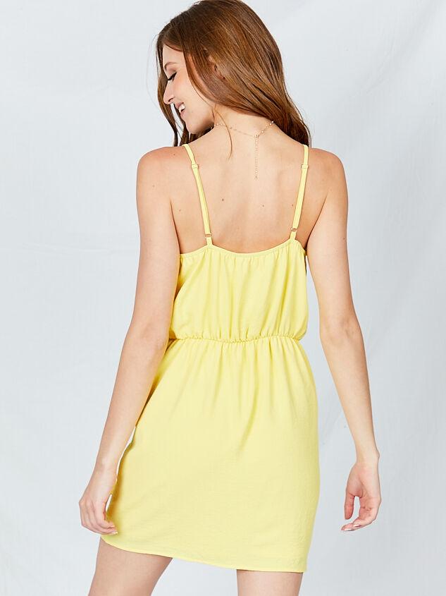 Hello Sunshine Dress Detail 2 - Altar'd State