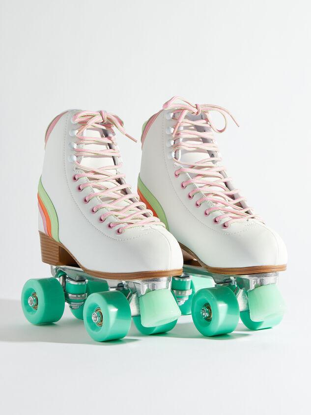 Brite Retro Skates - Mint Wheels Detail 5 - Altar'd State