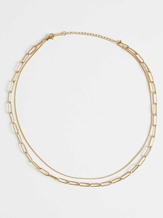 Sage Necklace - Gold Detail 2 - Altar'd State