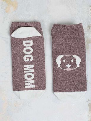 Dog Mom No-Show Socks - Altar'd State