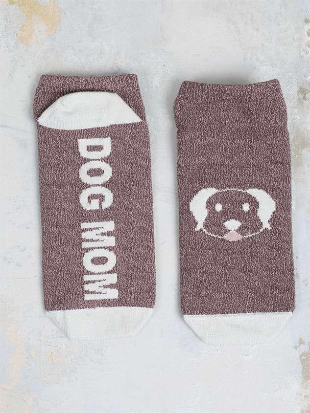 Dog Mom No-Show Socks - Altar'd State