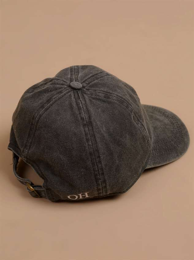 Our Home Canvas Baseball Hat – Ohio Detail 3 - Altar'd State