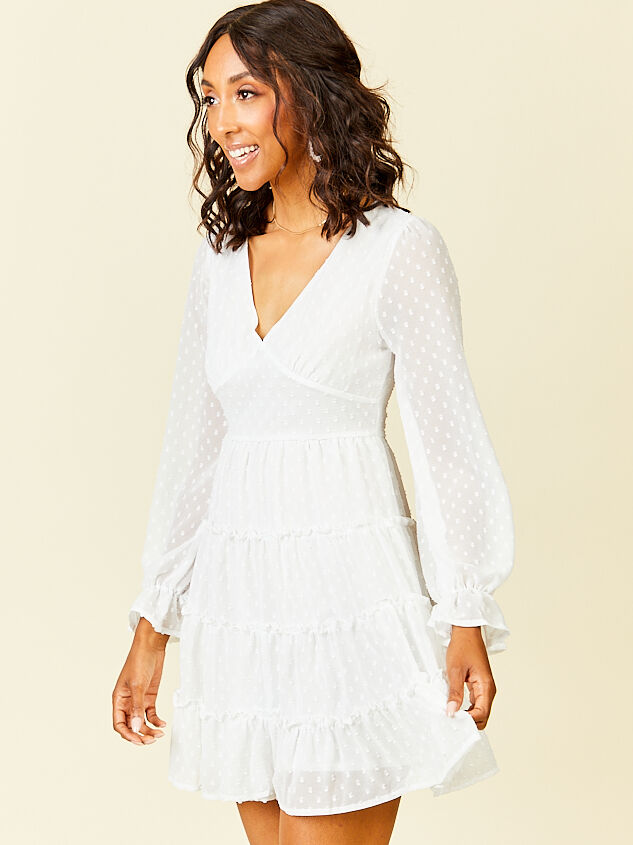 Eliza Dress - White Detail 3 - Altar'd State