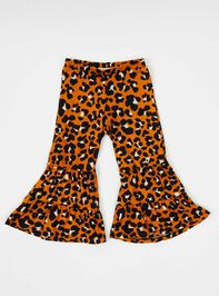 Tullabee Leopard Flare Pants Detail 2 - Altar'd State
