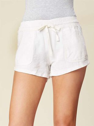 Essential Linen Shorts - Altar'd State