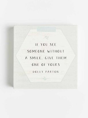 Give Them a Smile Wall Art - Altar'd State