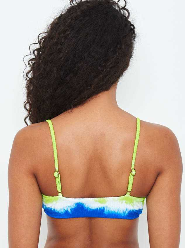 Moonlight Tie Dye Bikini Swim Top Detail 4 - Altar'd State