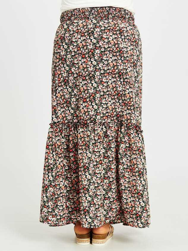 Blossoming Maxi Skirt Detail 4 - Altar'd State