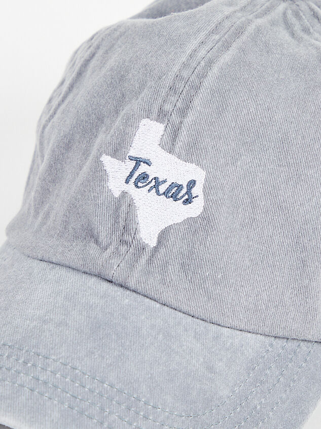 Texas Embroidered State Hat Detail 3 - Altar'd State