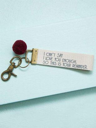 I Love You Reminder Keychain - Altar'd State
