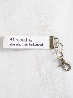 Blessed is She Keychain - Altar'd State