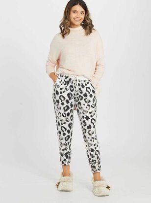Cozy Leopard Lounge Pants - Altar'd State