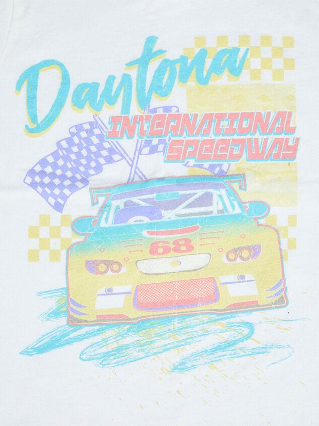 Tullabee Daytona Racecar Tee Detail 3 - Altar'd State