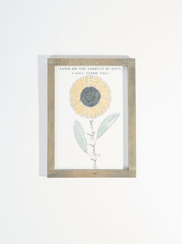 Find the Sun Sunflower Wall Art - Altar'd State