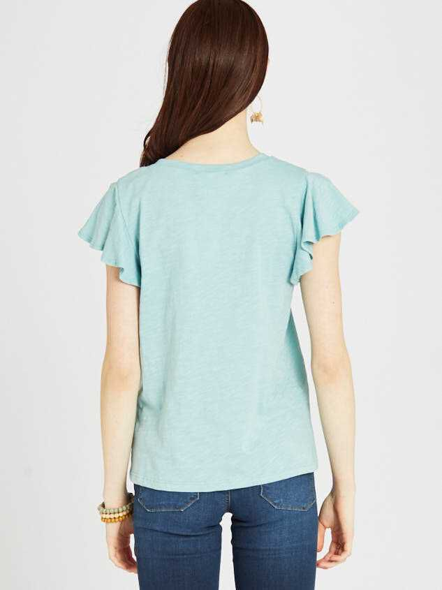 The Flutter Tee Detail 3 - Altar'd State