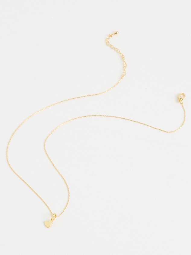 18k Gold Mini Heart Charm Detail 3 - Altar'd State