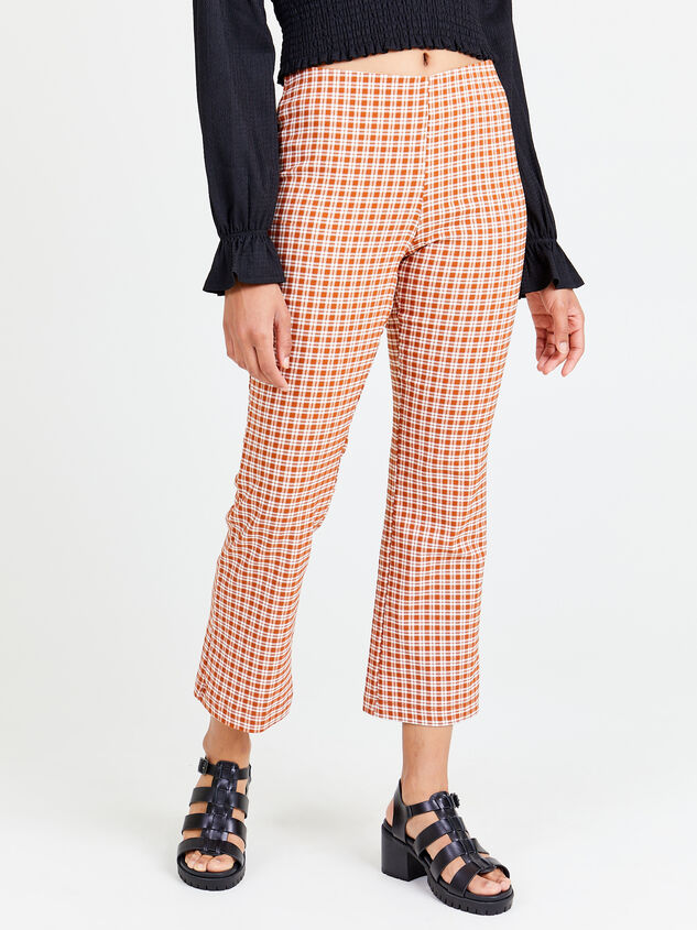 Ainsley Plaid Pants - Altar'd State