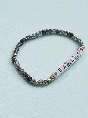 Fearless Beaded Bracelet - Altar'd State