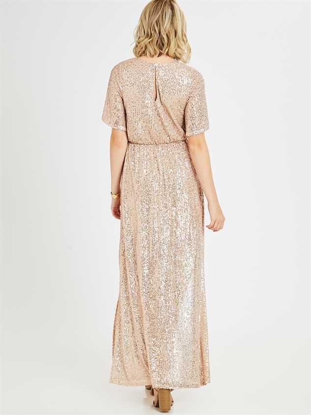 Adela Maxi Dress Detail 3 - Altar'd State