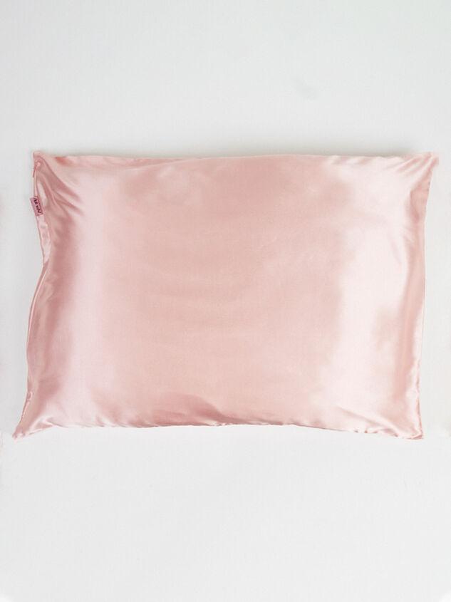 Blush Satin Pillowcase Detail 2 - Altar'd State