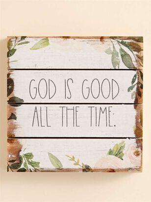 God is Good Pallet Sign - Altar'd State