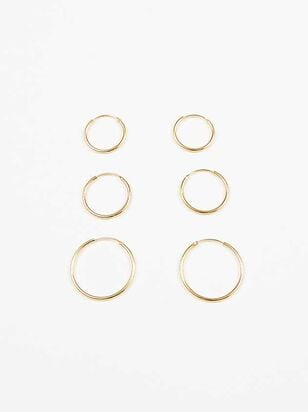 Hooping Around Earring Set - Altar'd State