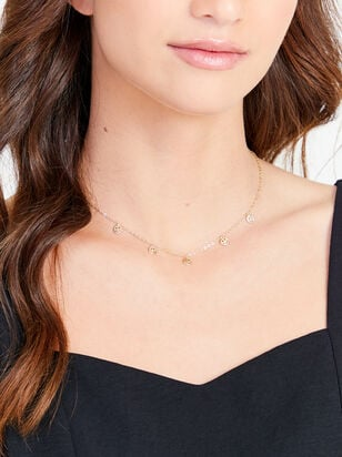 Smiley Face Charm Necklace - Altar'd State