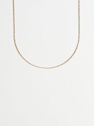 Charm'd 18K Gold 16 Inch Charm Necklace - Altar'd State