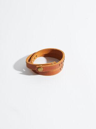 Studded Leather Bracelet - Altar'd State