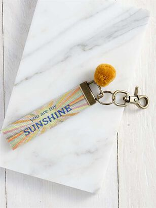 You Are My Sunshine Keychain - Altar'd State