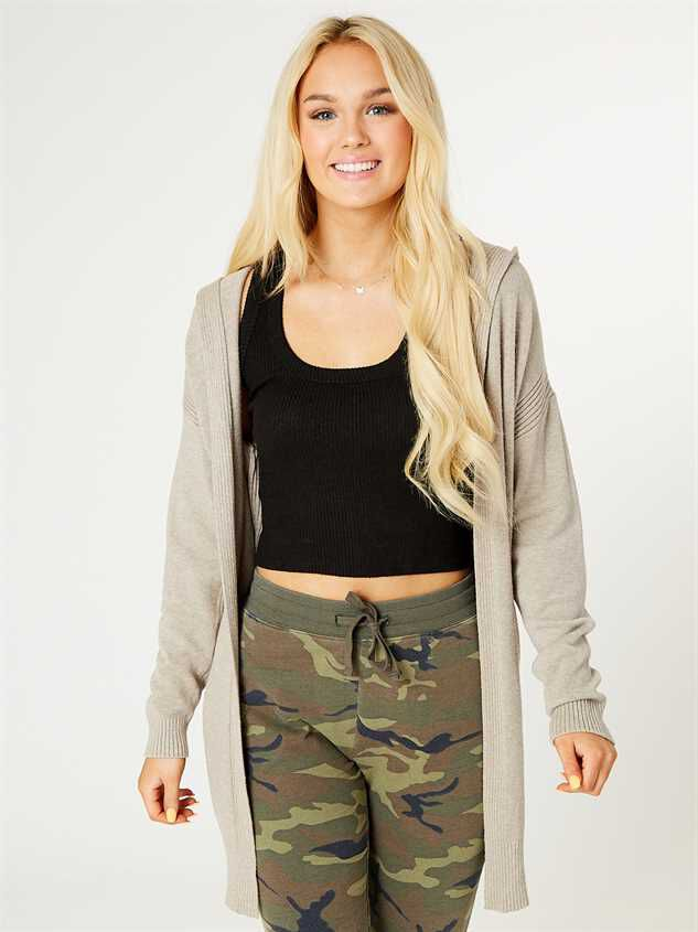 Hooded Lounge Cardigan - Altar'd State