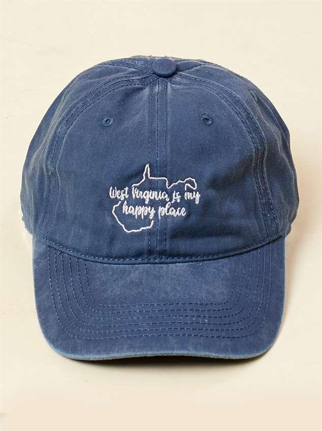 Surprising West Virginia Is My Happy Place Baseball Hat Interior Design Ideas Philsoteloinfo
