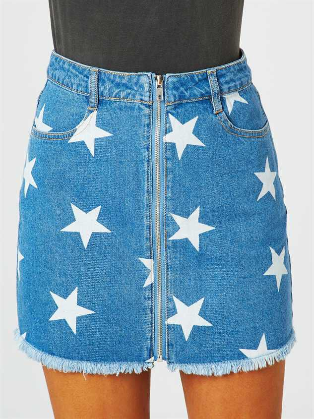 Star Gazer Skirt Detail 2 - Altar'd State