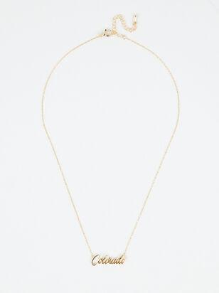 Colorado Love Necklace - Altar'd State