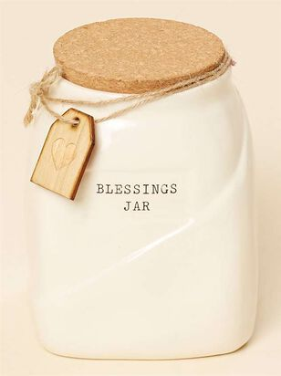Ceramic Blessings Jar - Altar'd State