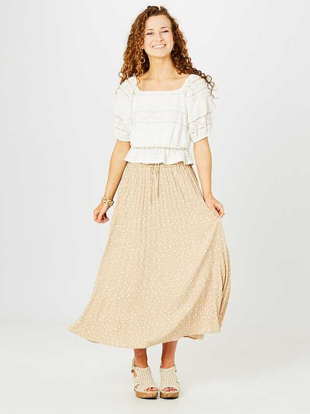 Kailey Midi Skirt Detail 2 - Altar'd State