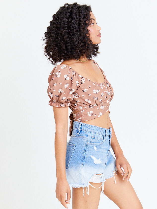 Dainty Floral Top - Coco Detail 3 - Altar'd State