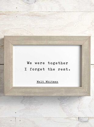 We Were Together Box Sign - Altar'd State