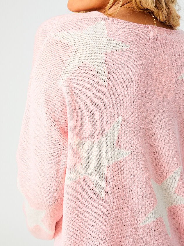 Starry Night Sweater Detail 5 - Altar'd State