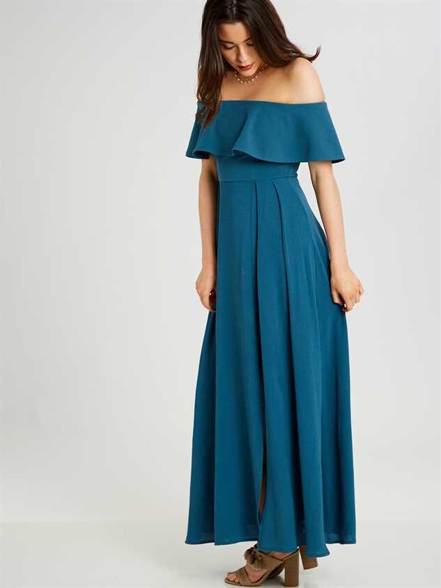 Dayla Maxi Dress Detail 2 - Altar'd State