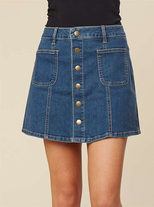 Back To School Skirt - Altar'd State
