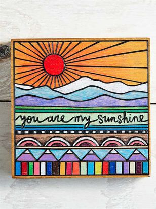 You are My Sunshine Block Sign - Altar'd State