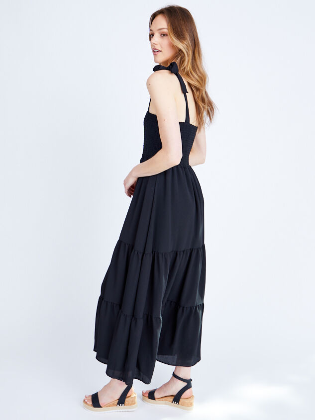 Lira Maxi Dress Detail 3 - Altar'd State