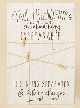 True Friendship Twine and Clip Frame - Altar'd State