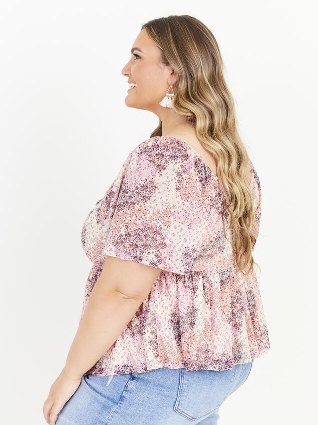 Piper Floral Top Detail 2 - Altar'd State