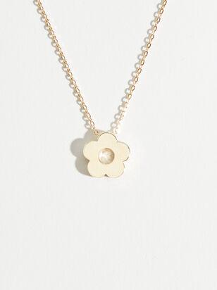 Retro Floral Charm Necklace - Altar'd State