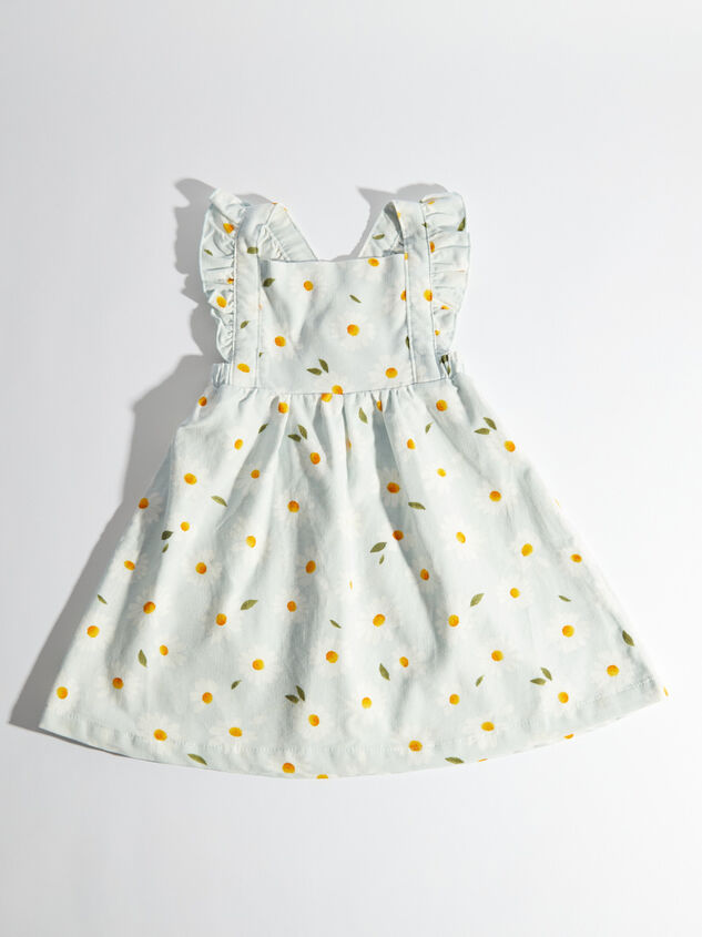 Tullabee Daisy Corduroy Pinafore Dress Detail 2 - Altar'd State