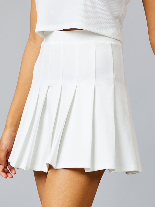 Santiago Tennis Skirt Detail 3 - Altar'd State